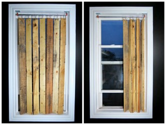 blinds from pallets
